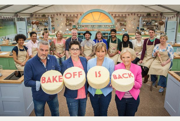 The Great British Bake Off Presenters including Mary Berry