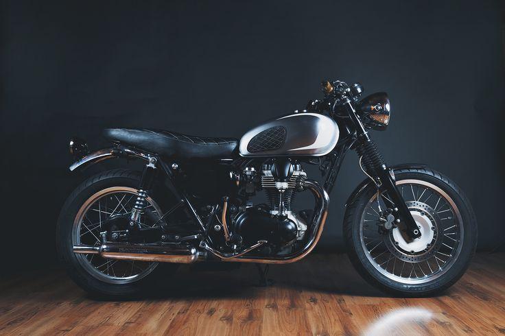 38 best bonneville t100 mods images on pinterest for Garage seat nice