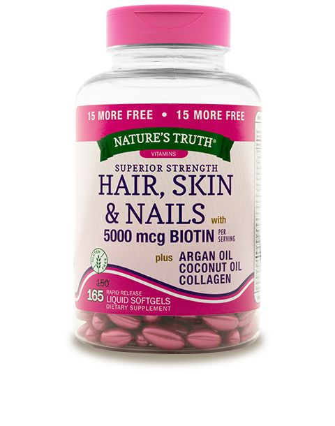 This unique formula is a synergistic blend of nutrients the body needs for revitalized hair, skin, and nails.* Each ingredient is carefully chosen and placed in perfect symmetry to provide support for healthy hair, skin and nails.*