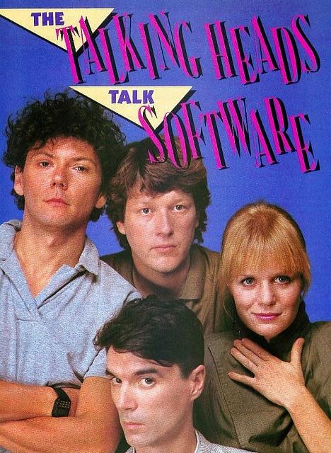 The Talking Heads Talk Software