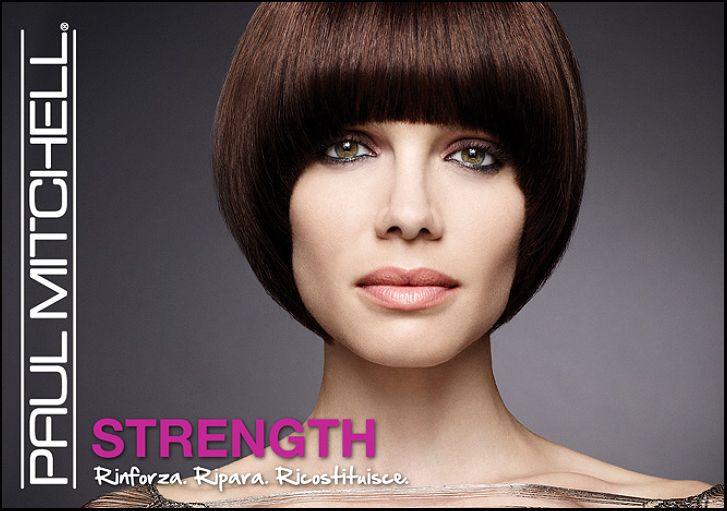 Nuova energia, potenza ed elasticità per i capelli deboli e sfibrati grazie alla linea STRENGHT di Paul Mitchell!