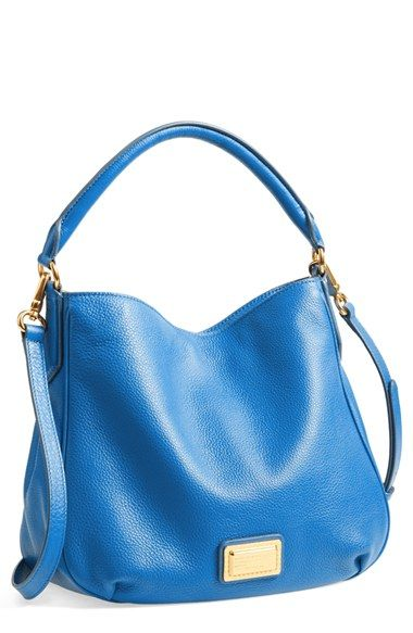 Great Blue Free Shipping And Returns On Marc By Jacobs Hobo At Nordstrom A Signature Logo Pla Let S Share The Deals We Find