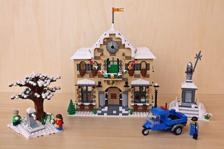 Winter Village: Winter Town Hall by sdrnet on EB