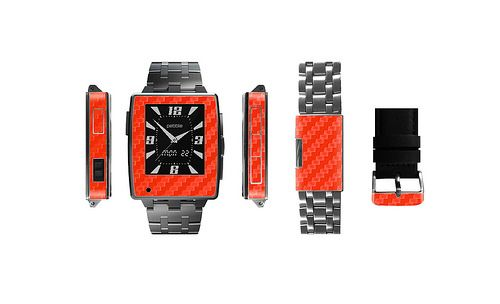 http://www.stickerboy.net/pages/pebble-steel-watch-skin-series  Ready to Ship!