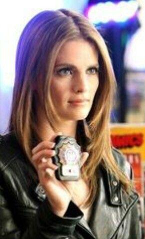 Kate Beckett as Stana Katic