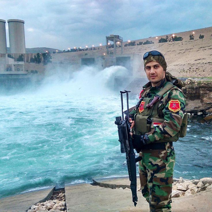 Peshmerga Kurdish Armyat Mosul Dam