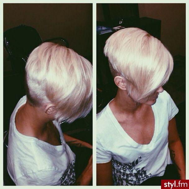 Fryzury Proste włosy: Fryzury Krótkie Na co dzień Proste - Szzeherezada - 2671715