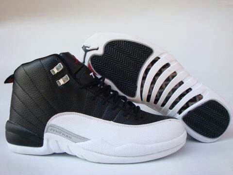 Nike Air Jordan 12 - Black White - One of the few Jordans I bought that I  DID wear a lot. Still heavy, but one of the coolest looking shoes ever made.