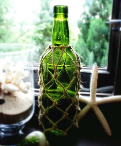 Rope Net Bottle Ideas