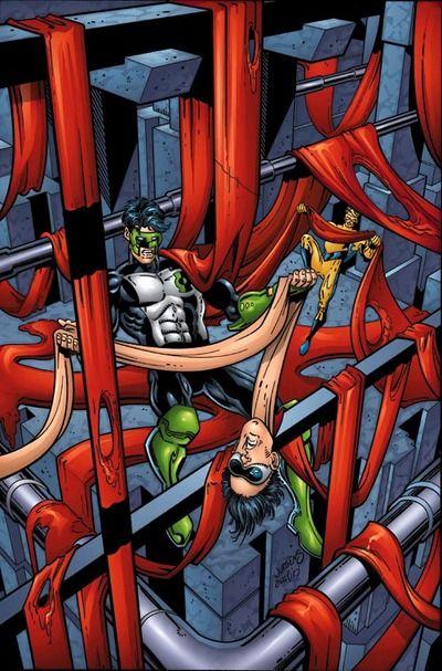 Plastic Man & Green Lantern