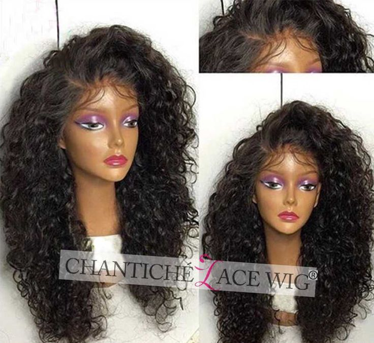 Best Curly Wig Human Hair Full Lace Wigs Black Women Brazilian Remy Lace Front #ChanticheLaceWig #Layered