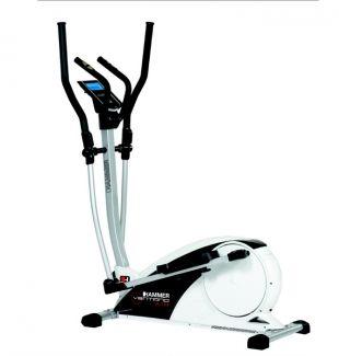 Vélo Elliptique ergomètre VENTANO XTR- Marque : FINNLO/HAMMER (ALLEMANDE) -----Caractéristiques Générales : Affichage de la distance, du temps, de la vitesse, de la fréquence cardiaque et calories brûlées.  Performance : 35-260 watts.  Programmation haute et basse de la pulsation cardiaque.  Programmes d'entraînement reglés par le pouls : 4 Option démarrage rapide.  Paramètres d'entraînement ajustables.  Résistance contrôlée par la console 4+1 programmes d'utilisateur