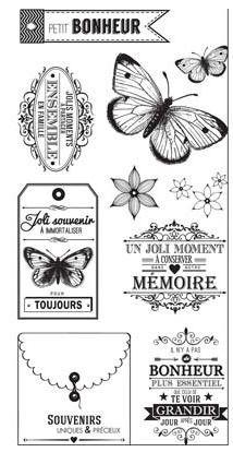 Tampons Acrylique - Best of #4 - Florilèges Désign