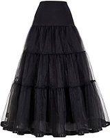 GRACE KARIN® Women's Ankle Length Bridal Wedding Petticoats Slips