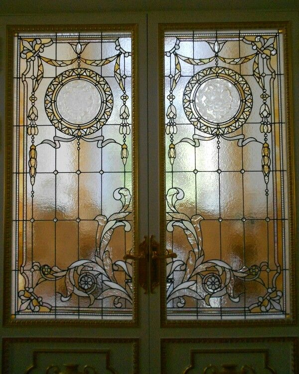 stained glass doors details by france vitrail international. Black Bedroom Furniture Sets. Home Design Ideas