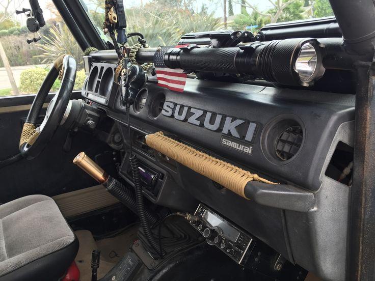 Paracord use Suzuki samurai