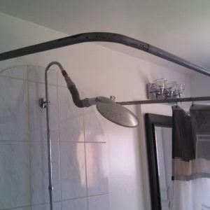 Shower Curtain Surround Rod