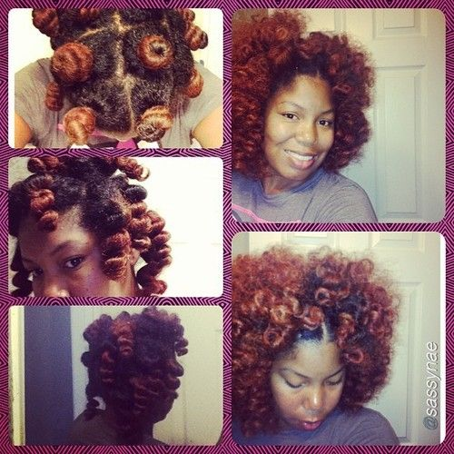 naturalhairdaily - Now that's a perfect bantu knot out!