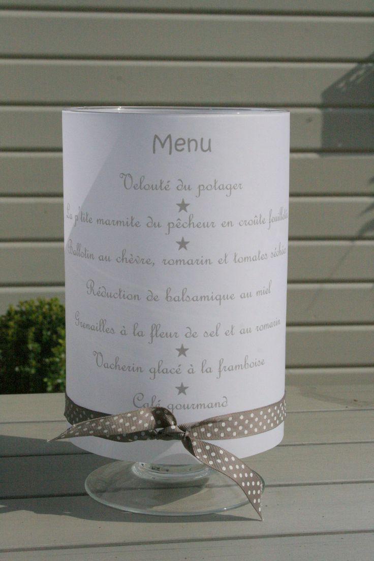 menu photofore