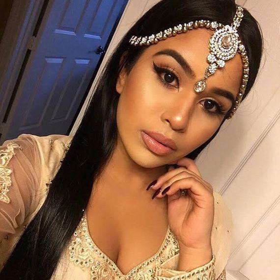 GLAMOROUS GOLD GODDESS Head Chain Matha Patti Grecian Goddess Bridal Bride Wedding Prom Bohemian Boho Glamour Bollywood Hair Jewelry