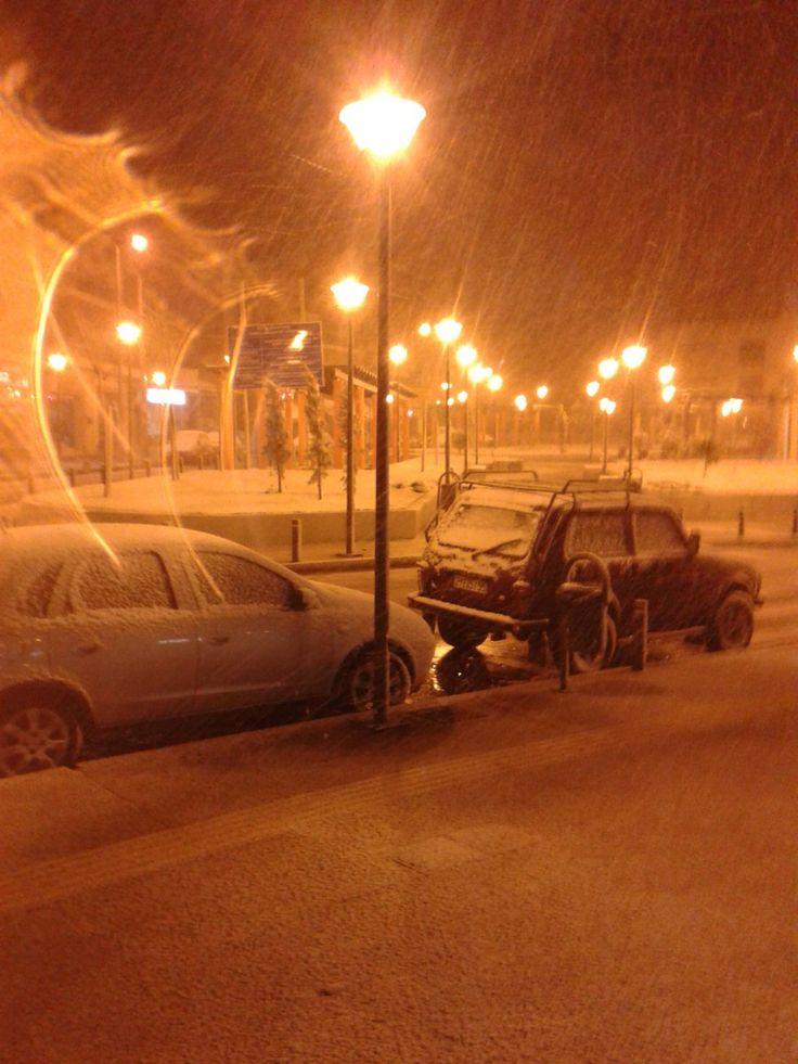 Με άγριες διαθέσεις έφτασε ο χιονιάς - Το έστρωσε στην Αθήνα - Όμορφα Ταξιδια