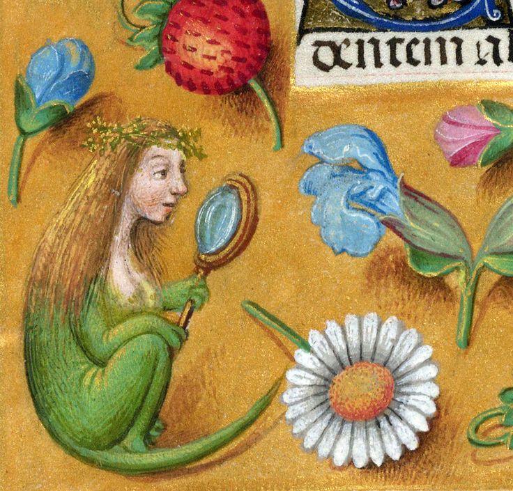 lizard girl'Breviary of Queen Isabella of Castile', Bruges ca. 1497BL, Add 18851, fol. 477v