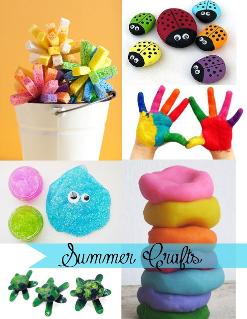 Being creative to keep my sanity: Summer Crafts for Kids. Give a like if you love to be crafty!