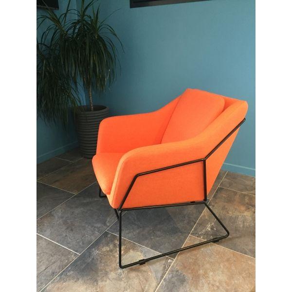 Fauteuil narvik orange