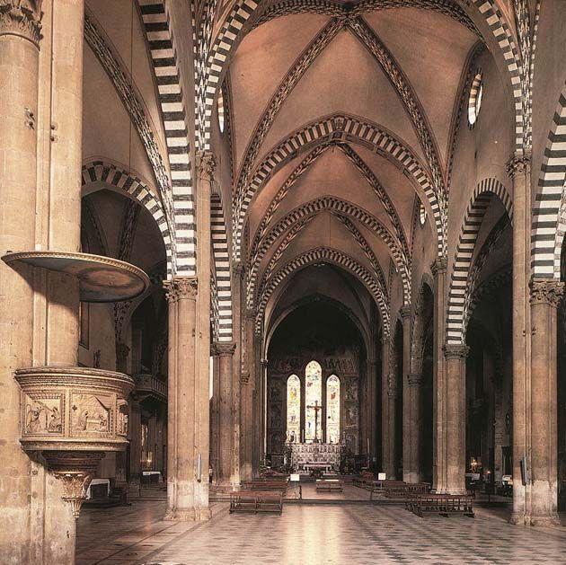 Leon Battista Alberti - Santa Maria Novella - Firenze