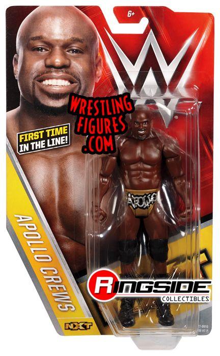 Apollo Crews - WWE Series 64 WWE Toy Wrestling Action Figure