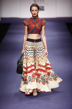 by #Indian designer #RituKumar, great collection 2012