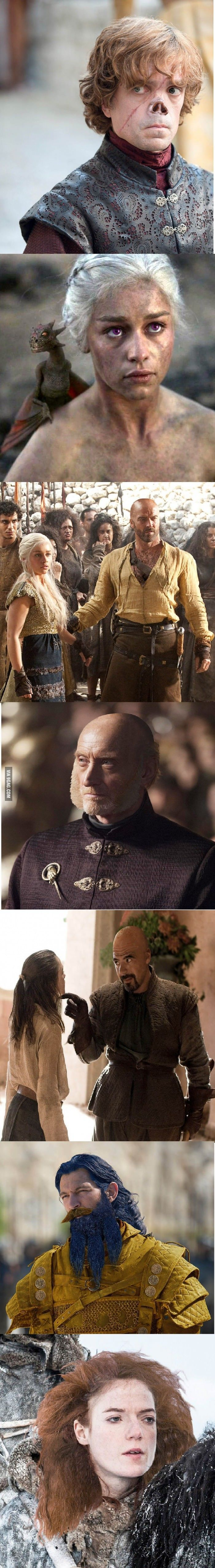 How Game of Thrones characters actually look in the books