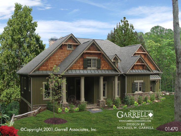 cashiers cabin house plan 01470garrell associates inc design by michael w