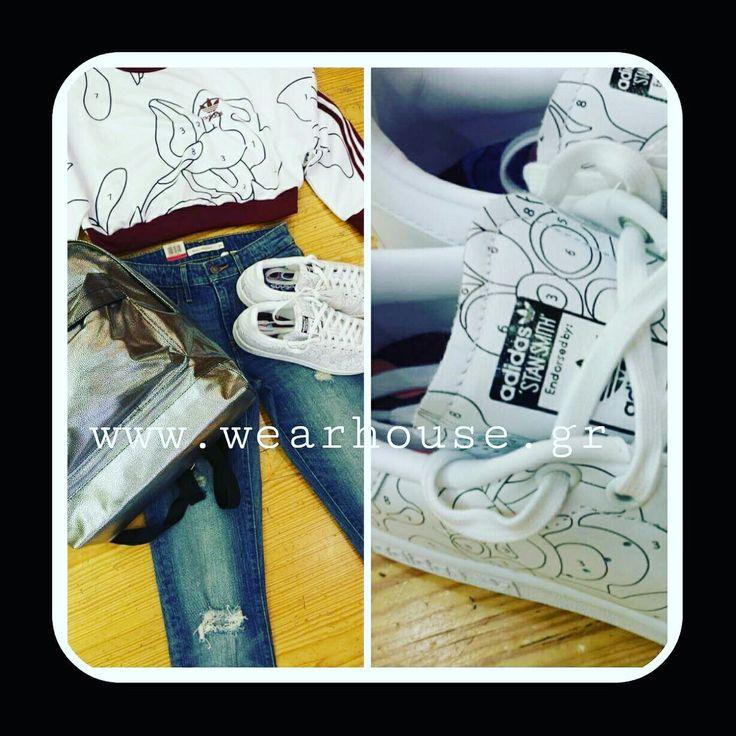 #newcollection #2016 #levis #jeans #ritaora #tshirt #mipac #shoponline #shopnow #bakagiannisjeans #wearhousegr
