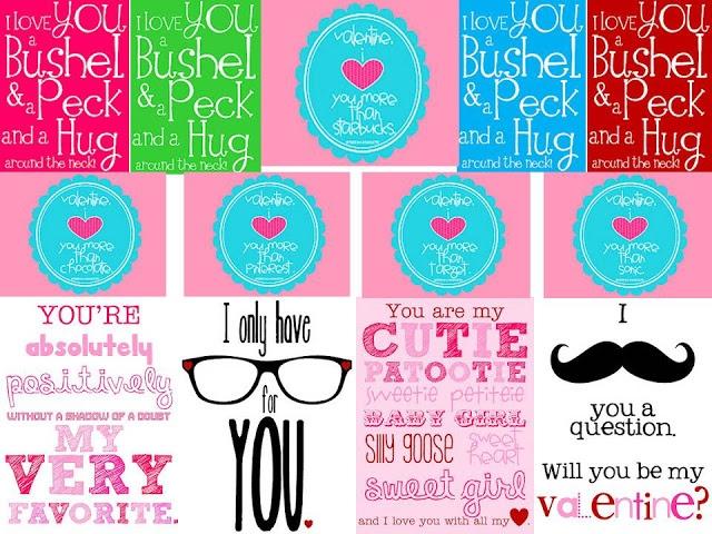 Valentine Candy Gram Template - Costumepartyrun