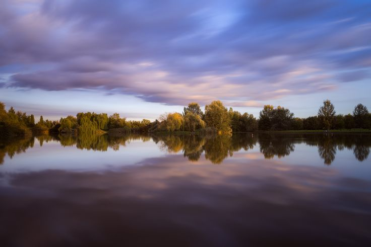"""Long exposure, during sunset, in the public park """"G.Bassani"""" in Ferrara. Some people while I was taking this shot stopped asking if I was fishing..O.o I thought it was a joke, but it wasn't!  If you like my works you can find me on <a href=""""https://instagram.com/enrico.lapponi/"""">Instagram 