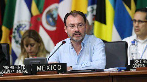 Canciller de México abandona el diálogo por adelanto de elecciones -  El canciller de México, Luis Videragay, anuncióque debido ala decisión de la Asamblea Nacional Constituyente (ANC) de adelantar las elecciones presidenciales en Venezuela al primer cuatrimestre del año, su país se retira del proceso de diálogo entre el Gobierno nacional y la oposición.  A trav... - https://notiespartano.com/2018/01/24/mexico-se-retiro-del-dialogo-adelanto-elecciones/