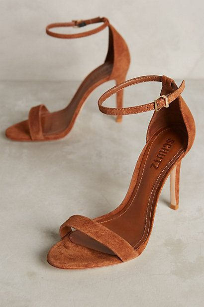Schutz Cady Lee Heels #anthropologie