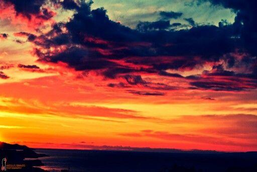 Ηλιοβασιλεμα Σαμος