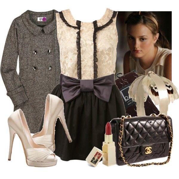 Fashion From Gossip Girl Serena