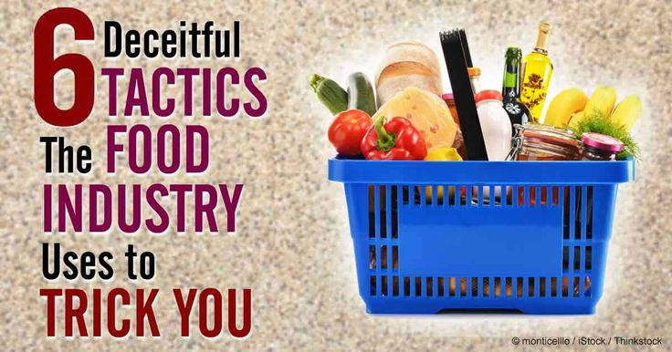 Do you know what's behind the food you eat? Here are some tricks the food industry might be hiding from you. http://articles.mercola.com/sites/articles/archive/2014/07/30/6-food-industry-tricks.aspx