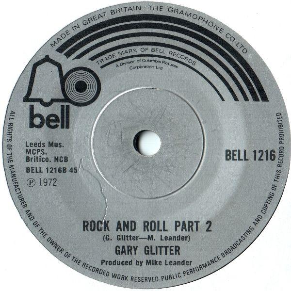 Rock and Roll Part 2, Garry Glitter, Bell, 1972