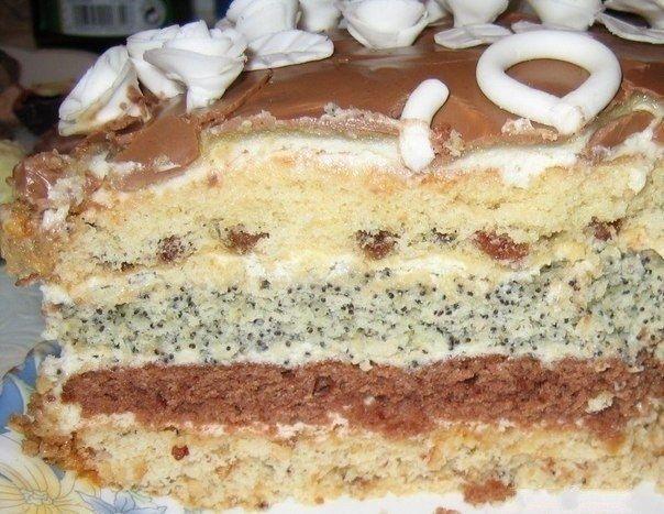 Фото к рецепту: Торт проще простого