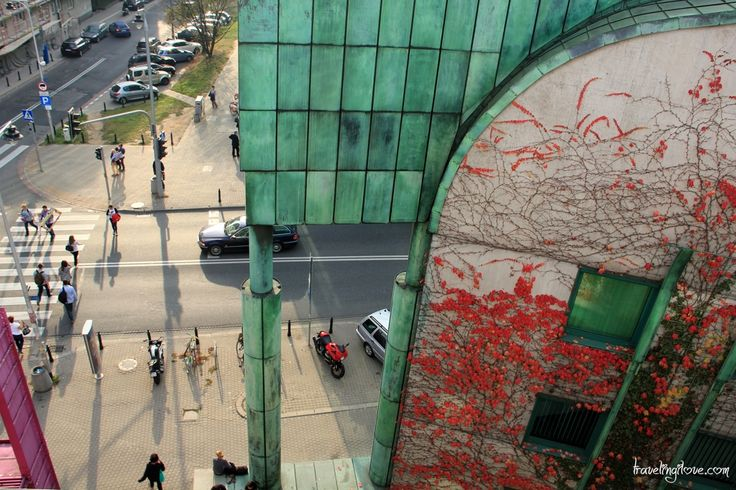 Warsaw University Library #Poland #fall