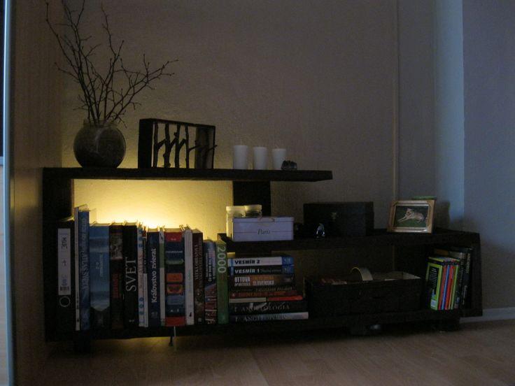 Handmade Wood Modern Bookshelf #handmade #furniture #wood #bedroom
