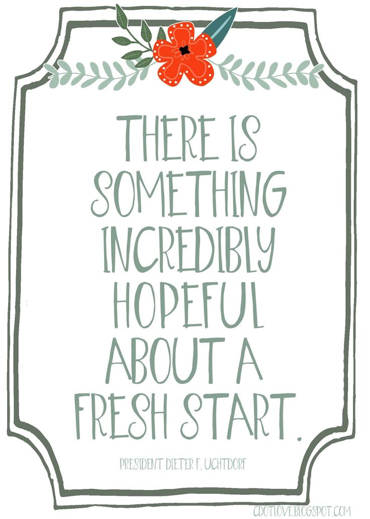 CdotLove Design { by Kristin Clove }: Fresh Starts! { Free Printable }