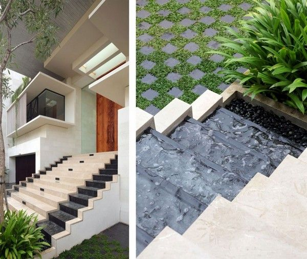 Static House was designed by Jakarta-based studio TWS & Partners and is a diverse 7,530 square foot contemporary home in Jakarta, Indonesia.