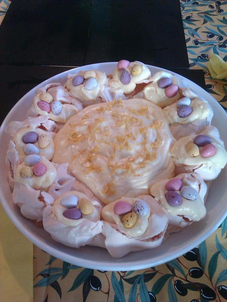 lemon meringue easter pudding mary berry recipe