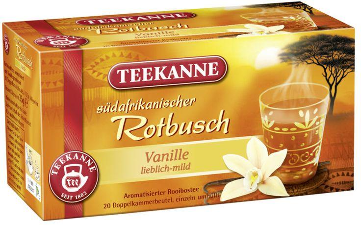 Teekanne Rotbuschtee Vanille 6 x 20 x 1,75g