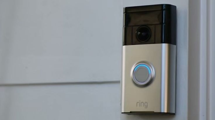 The Ring is a Wi-Fi-enabled doorbell that allows you to see and speak with everyone who comes to your door from your smartphone.